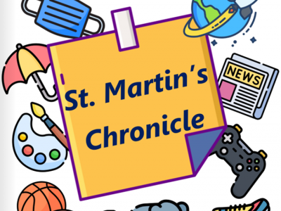 The very first edition of the St. Martin's Chronicle