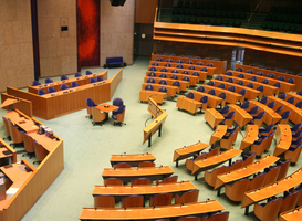 Interior of the Dutch parliament
